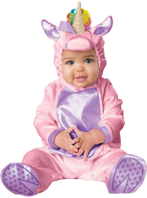 Niedliches Einhorn Kostüm für Babys
