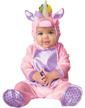 Sød enhjørning kostume til babyer