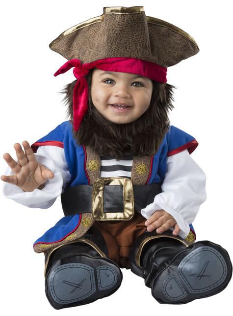 Strój walecznego pirata niemowlęcy