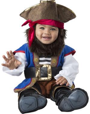 Disfraz de pirata valiente para bebé