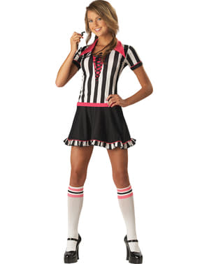 Referee costume for teenagers
