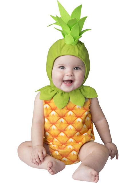 Fato de ananás para bebé
