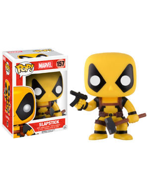 Funko POP! Bobble Deadpool Slapstick amarillo Exclusive - Deadpool