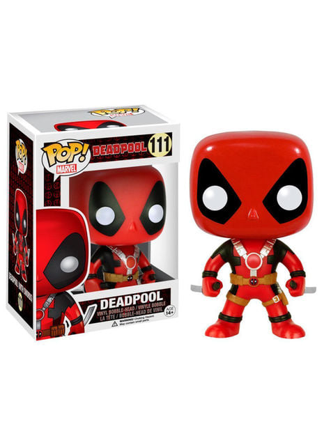 Funko POP! Bobble Deadpool con espadas - Deadpool