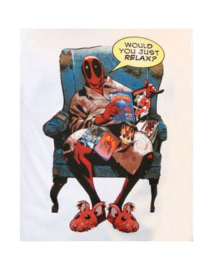 T-shirt  Deadpool Relax per uomo