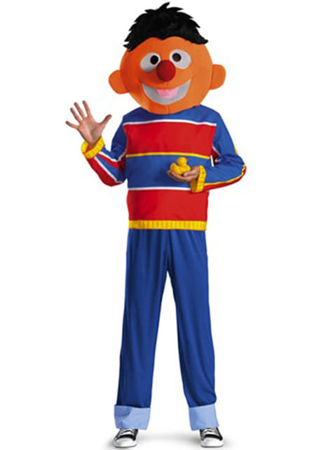 Sesame Street Ernie Maskeraddräkt