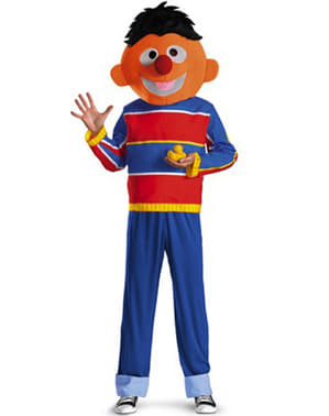 Ernie: Sesame Street Kostyme Voksen