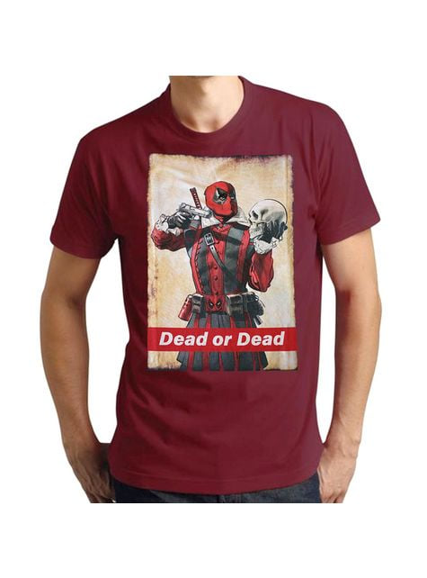 Deadpool Dead or Dead T-Shirt voor mannen