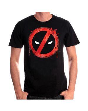 禁じられたスプラッシュ - 男性のためのデッドプールTシャツ