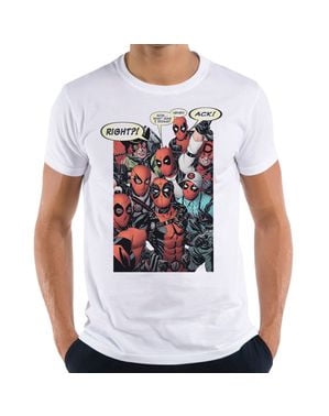 Deadpool Group Cosplay T-Shirt voor mannen
