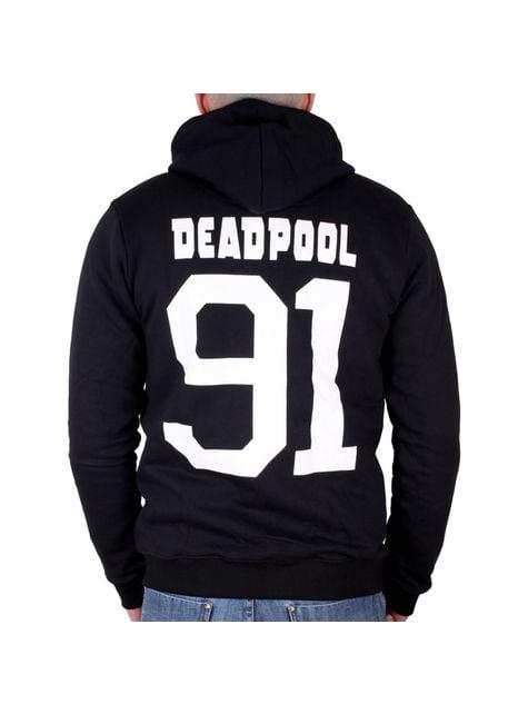 Sudadera Deadpool Logo Metal para hombre – Marvel