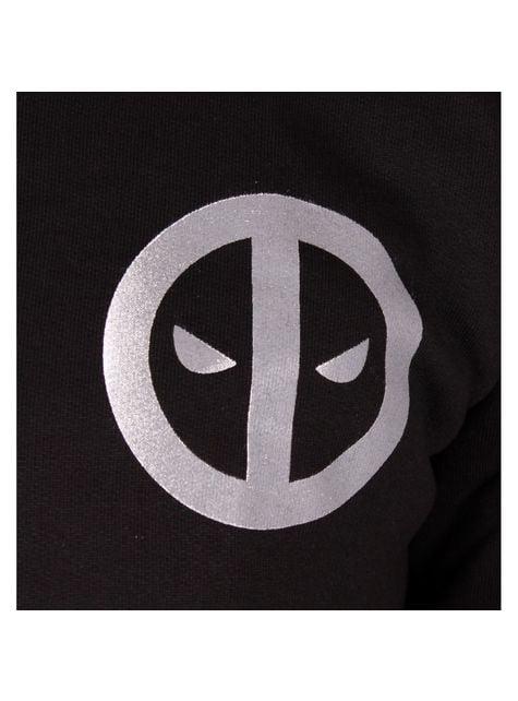Pánská mikina kovové logo Deadpool
