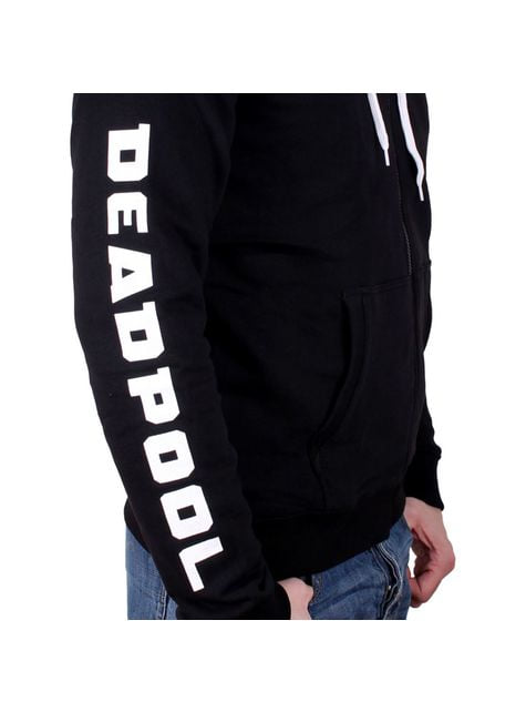 Sudadera Deadpool Logo Metal para hombre – Marvel - oficial