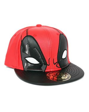 Deadpool Face cap for men