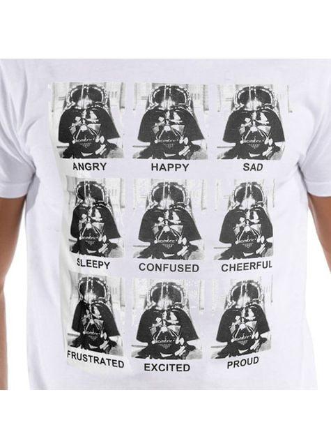 Darth Vader Emotions Star Wars t-shirt for men