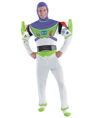 Costume Buzz Lightyear deluxe adulto