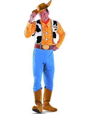 Fato de Woody Toy Story deluxe para adulto