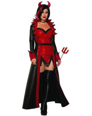 Costum de diavoliță ispititoare pentru femeie