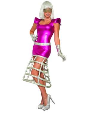 Disfraz de emperatriz del espacio para mujer