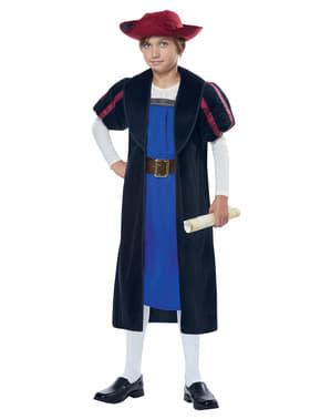 Christopher Columbus kostume til drenge
