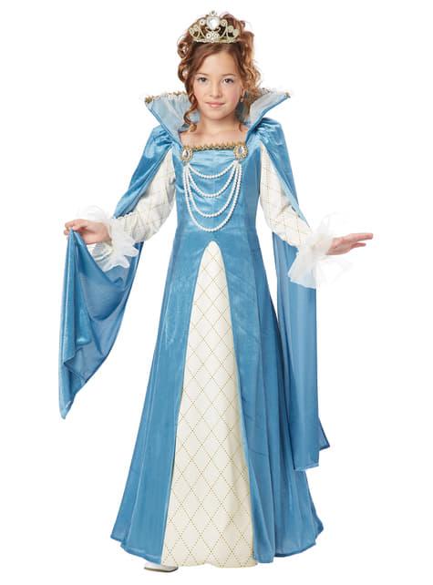 Renaissance koningin kostuum voor meisjes