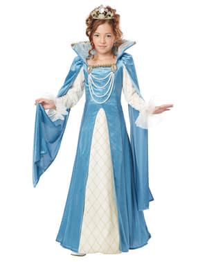 Renaissance Königin Kostüm für Mädchen