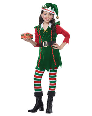 Christmas Elf costume for girls