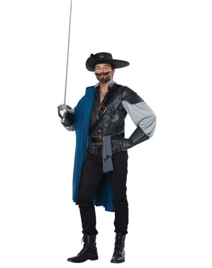 Musketeer costume for men