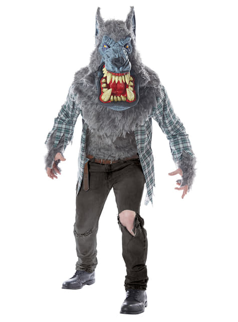 Werewolf costume for adults