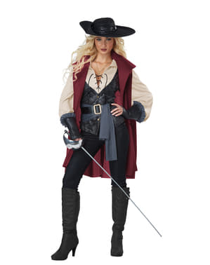 Musketeer costume for women