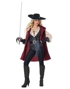 Musketeer costume for women