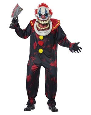 Costum de clovn asasin pentru adult