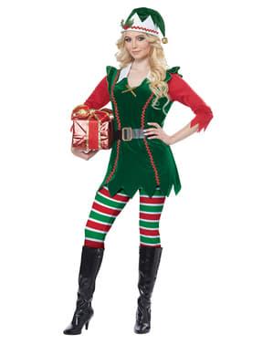 Disfraz de Elfo navideño para mujer