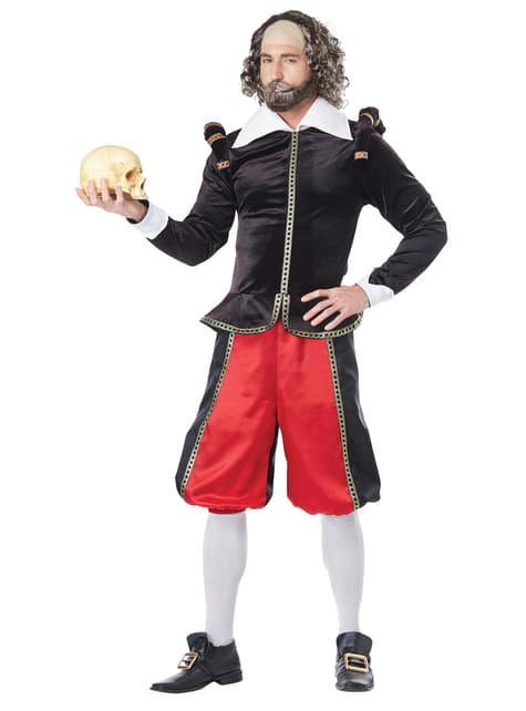 Disfraz de Shakespeare deluxe para hombre