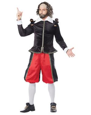 Luxusní pánský kostým Shakespeare