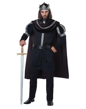Costume da Monarca dell'oscurità per uomo taglie forti