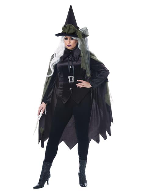 Disfraz de bruja gótica para mujer talla grande - mujer