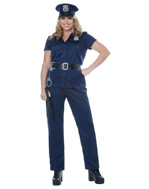 תחפושת משטרה לנשי גודל גדול