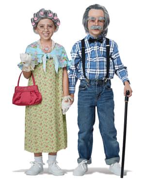 Zestaw akcesoriów babcia dziewczęcy
