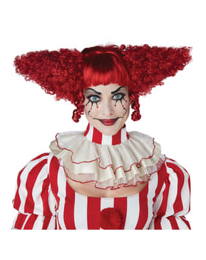 Red Horror Clown wig