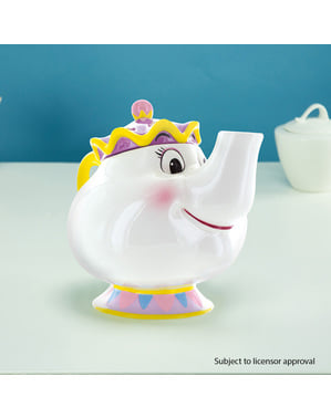 Tetera de Mrs Potts - La Bella y la Bestia
