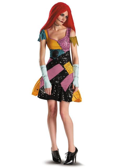 Dámský kostým pro dospělé sexy Sally Ukradené Vánoce