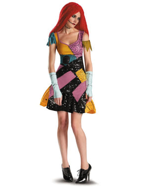Sally Costume Glamour for Adults - The Nightmare Before Christmas