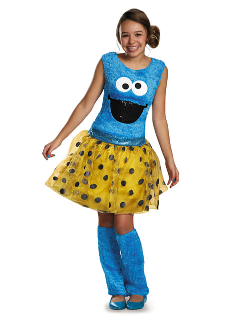 Cookie Monster costume for teenagers - Sesame Street