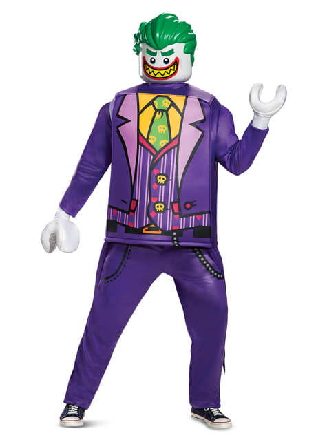 Deluxe Joker costume for adults - The Batman Lego Movie