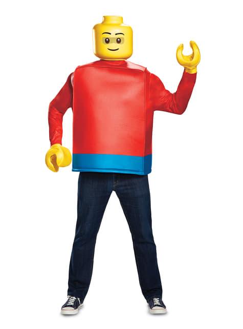 Kostium figurki Lego dla dorosłych