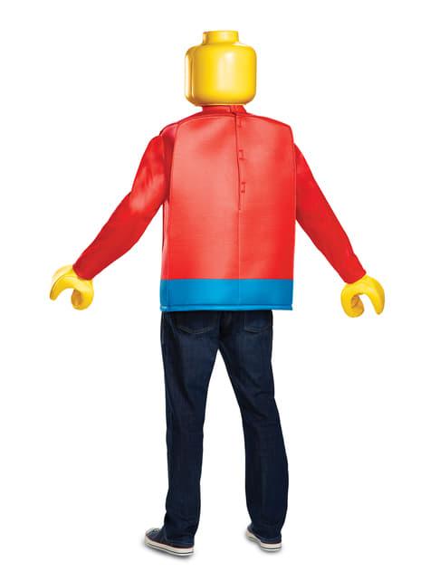 Disfraz de muñeco de Lego para adulto - adulto