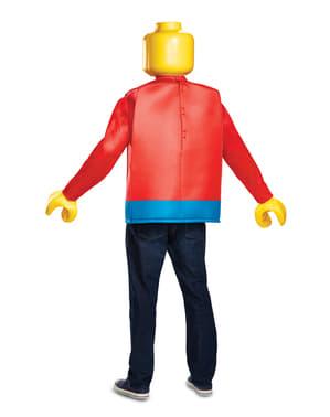 Fato de boneco de Lego para adulto