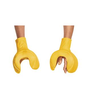 Mani di pupazzo della Lego per adulto