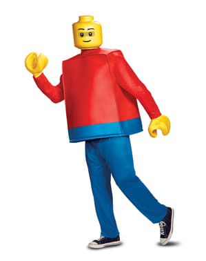 Lego-Puppe deluxe Kostüm für Erwachsene